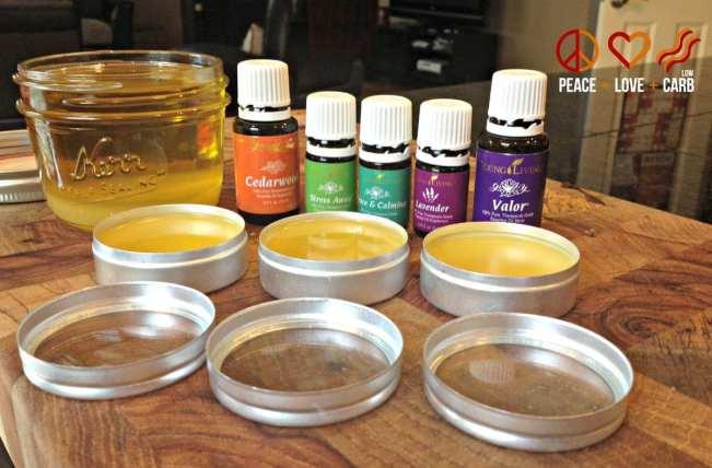 Essential Oil Sleep Salve Relaxation Rub