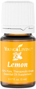 Young Living Lemon Everyday Essential Oil Uses