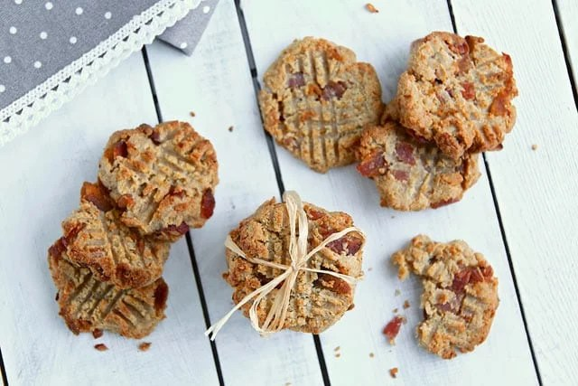 Bacon Onion Cookies - Low Carb, Gluten Free