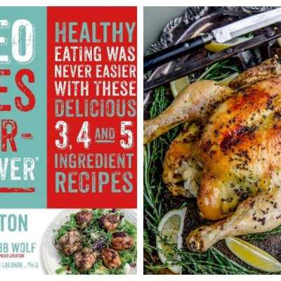Herb Buttered Whole Chicken Stuffed with Sauerkraut – A preview of the Paleo Takes 5 or Fewer Cookbook