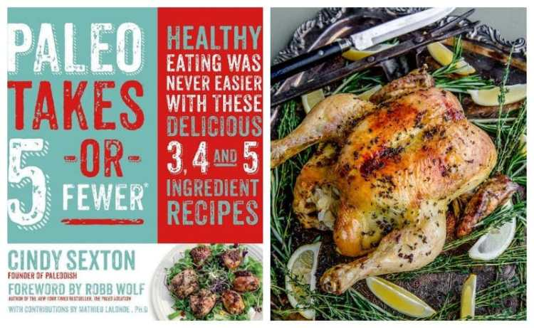 Paleo Takes 5 or Fewer - Cindy Sexton