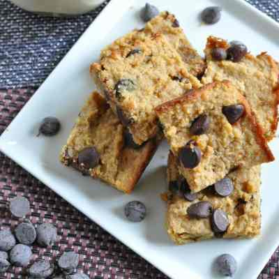 Chocolate Peanut Butter Bars – Low Carb, Gluten Free