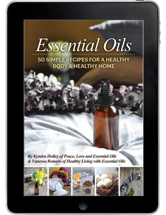 Essential Oils - 50 Simple Recipes for a Healthy Body & Healthy Home ebook - Pre-Sale