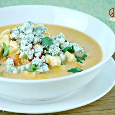 Buffalo Chicken Soup – Low Carb, Gluten Free
