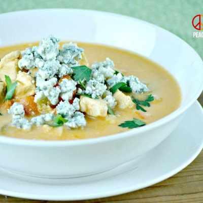 Buffalo Chicken Soup - Low Carb, Gluten FreeBuffalo Chicken Soup - Low Carb, Gluten Free