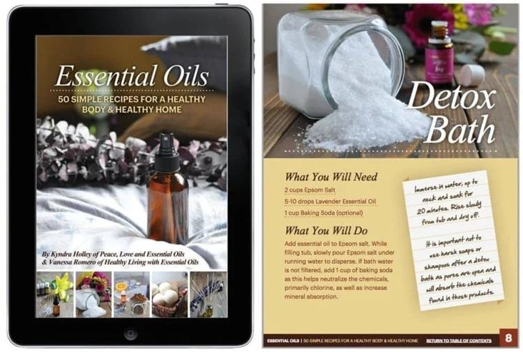 Essential Oils – 50 Simple Recipes for a Healthy Body & Healthy Home Ebook