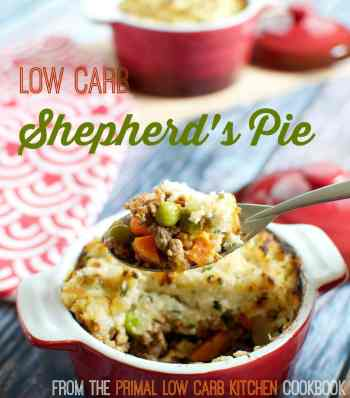 Shepherd's Pie - from The Primal Low Carb Kitchen Cookbook