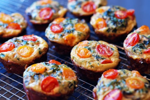 Prosciutto Wrapped Mini Frittata Muffins - Grab and Go Egg Muffin Breakfast Round Up | Peace Love and Low Carb