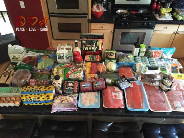 Day 2 Stocking up on groceries - My 100 pound journey   Peace Love and Low Carb