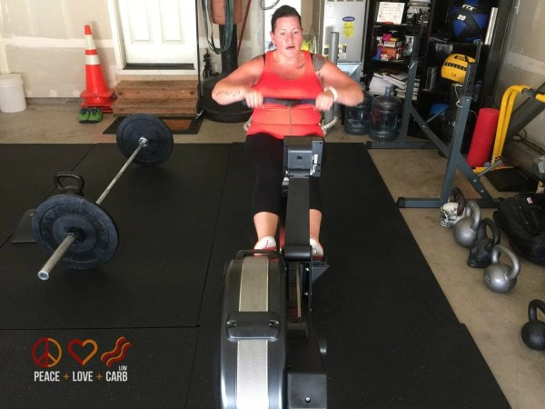 Day 2 - Workout - My 100 pound journey   Peace Love and Low Carb
