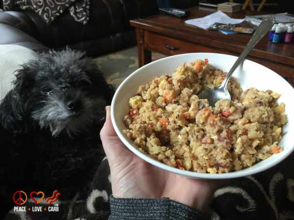 Chicken and Bacon Fried Rice - My 100 Pound Journey | Peace Love and Low Carb