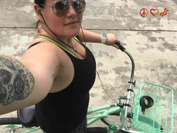 Day 27 Bike Ride - My 100 Pound Journey | Peace Love and Low Carb