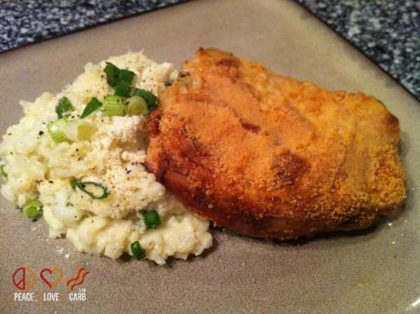 Parmesan Dijon Crusted Pork Chops | Peace Love and Low Carb