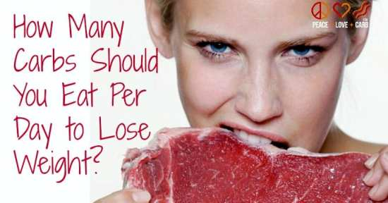 How Many Carbs Should You Eat Per Day to Lose Weight? | Peace Love and Low Carb