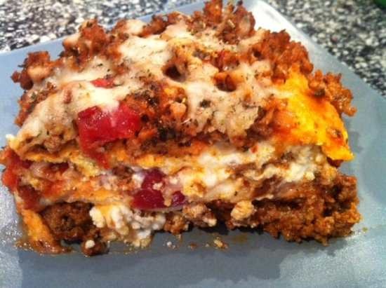"""Just like the real thing"" Lasagna, Low Carb and Gluten Free 