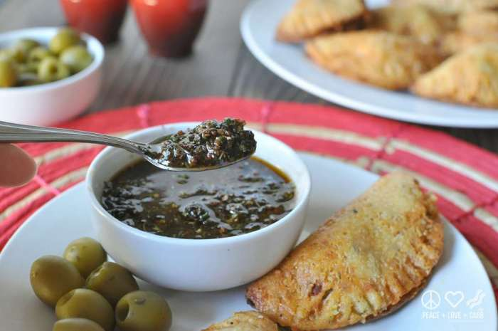 Balsamic Chimichurri Sauce - Peace Love and Low Carb