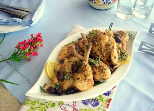 Lemon and Olive Pressure Cooker Chicken - Low Carb Pressure Cooker Round Up | Peace Love and Low Carb