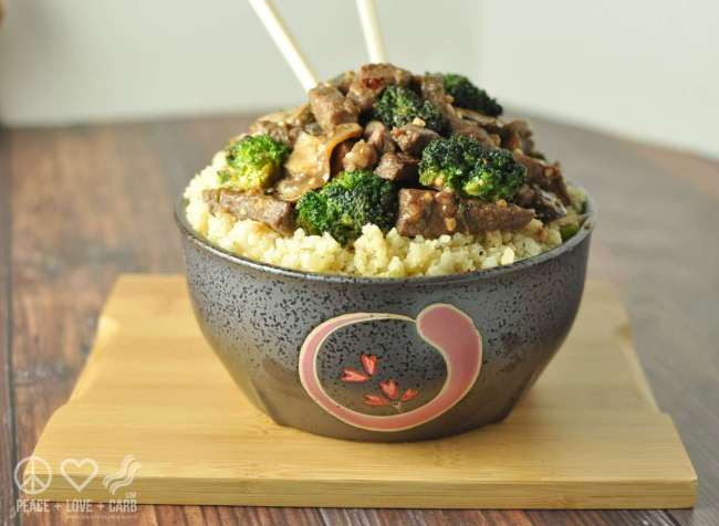 Beef And Broccoli Stir Fry - Low Carb, Gluten Free  Peace -9010