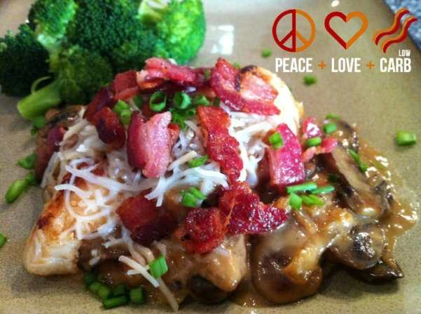 Sour Cream Smothered Chicken | Peace Love and Low Carb