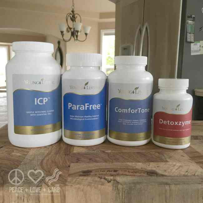 Colon Cleanse Protocol - ICP, ParaFree, Comforting, Detozxyme | Peace Love and Low Carb