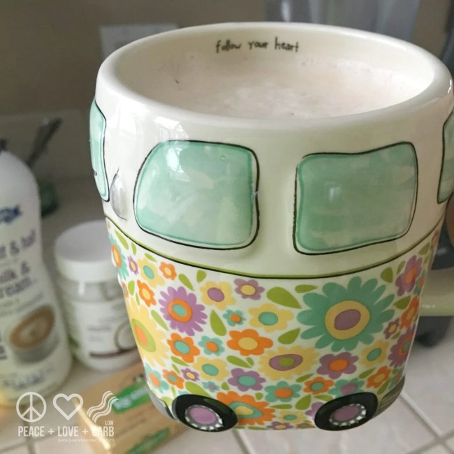 Morning Salted Caramel Bullet Proof Coffee | Peace Love and Low Carb