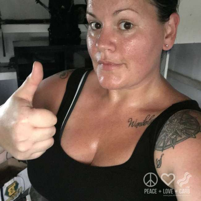 Post Workout Glisten   Peace Love and Low Carb