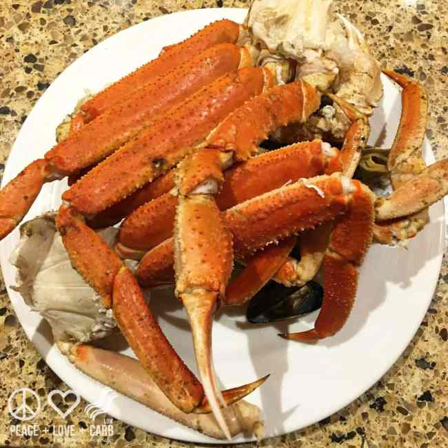All You Can Eat Crab Buffet | Peace Love and Low Carb
