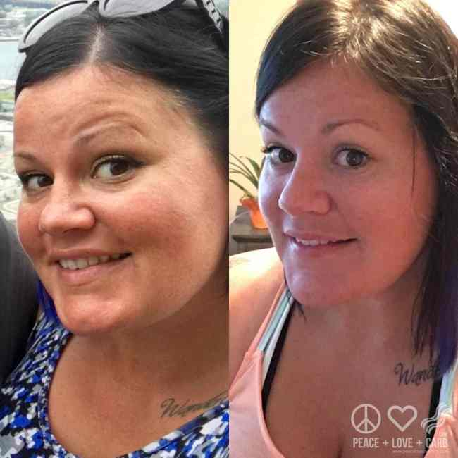 Face to Face Friday - Weight Loss Progress | Peace Love and Low Carb