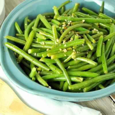 Lemon Pepper Green Beans – Low Carb, Paleo