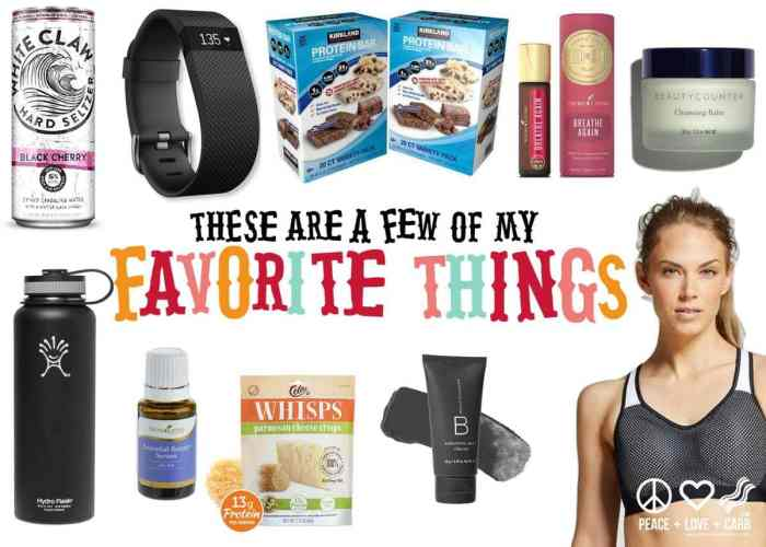 These Are a Few of My Favorite Things   Peace Love and Low Carb