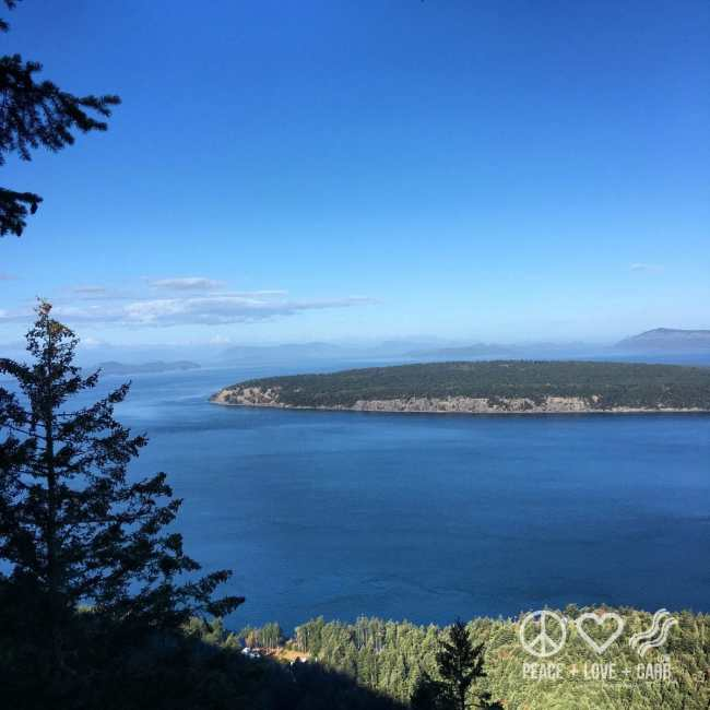 View from the top of Turtleback Mountain | Peace Love and Low Carb