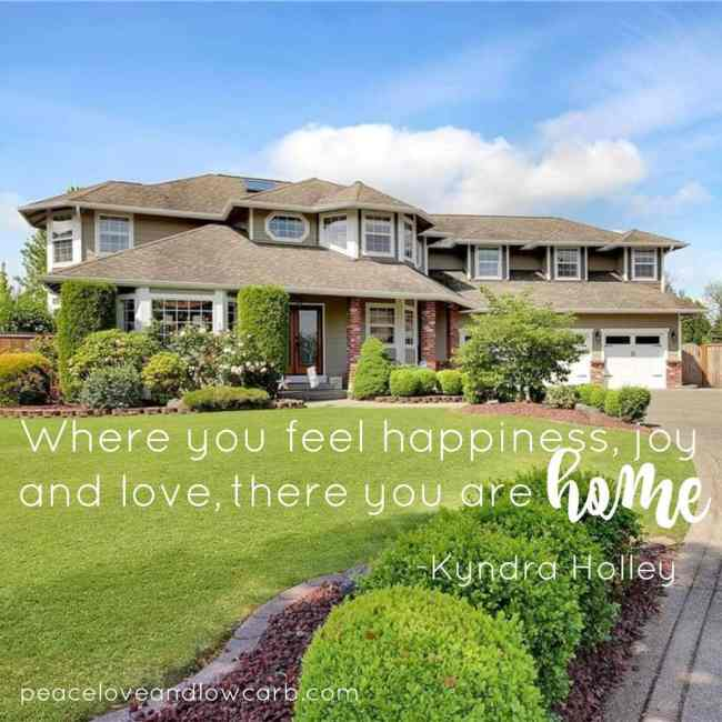 Where you feel happiness, joy and love... there you are Home | Peace Love and Low Carb