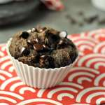 Chocolatey, lightly sweetened, and full of fall flavor. These Double Chocolate Chip Pumpkin Spice Muffins are a must try, any time of year.