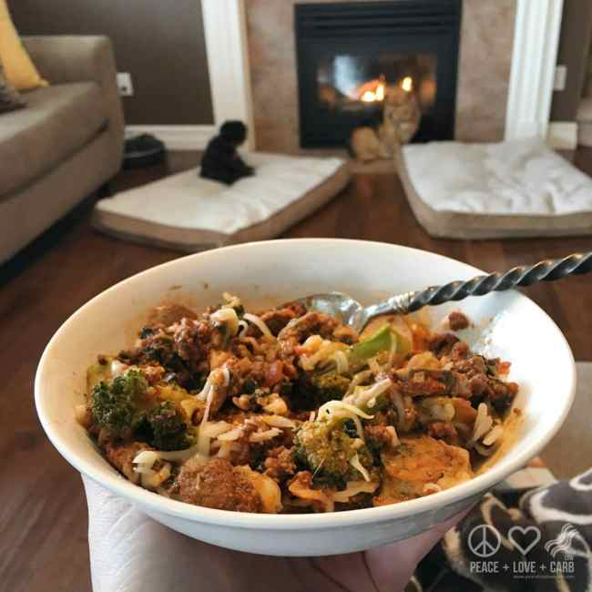 Leftovers - One Pot Skillet Meal | Peace Love and Low Carb