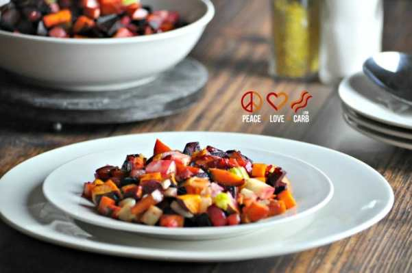 Root Vegetable Hash with Bacon - Low Carb, Paleo, Whole30
