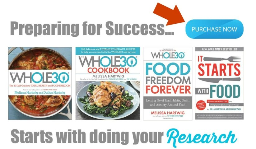 Whole 30 Books | Peace Love and Low Carb