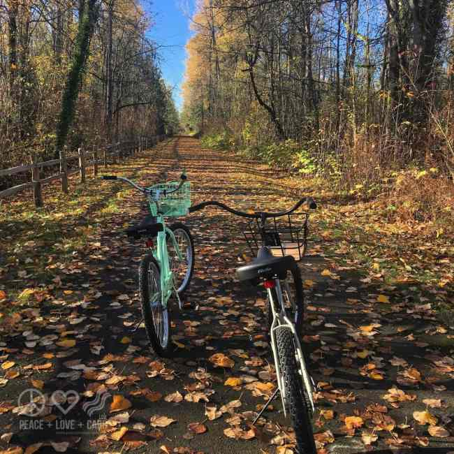 Election Morning Bike Ride | Peace Love and Low Carb