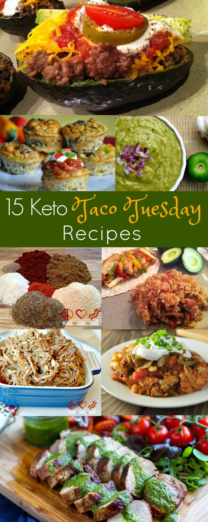 15 Keto Taco Tuesday Recipes | Peace Love and Low Carb