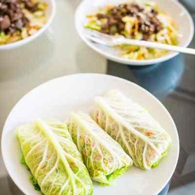 Cumin Spiced Beef Wraps – Low Carb, Paleo