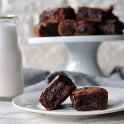 Fudgy Double Chocolate Brownies and a GIVEAWAY!