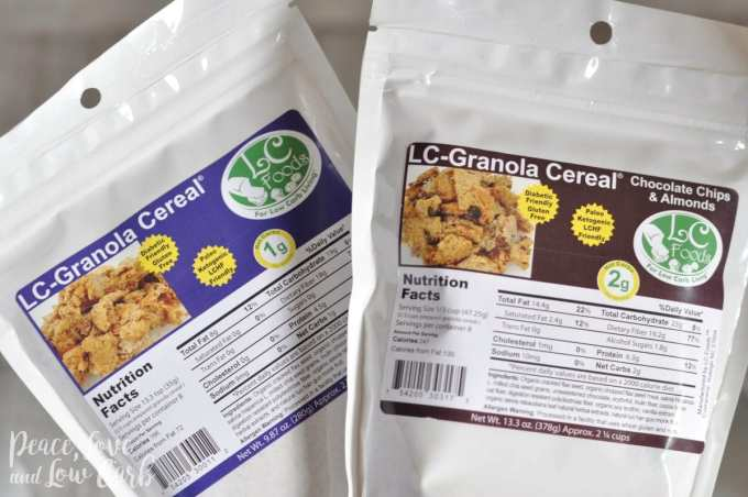 Low Carb and Gluten Free Granola - Peace Love and Low Carb
