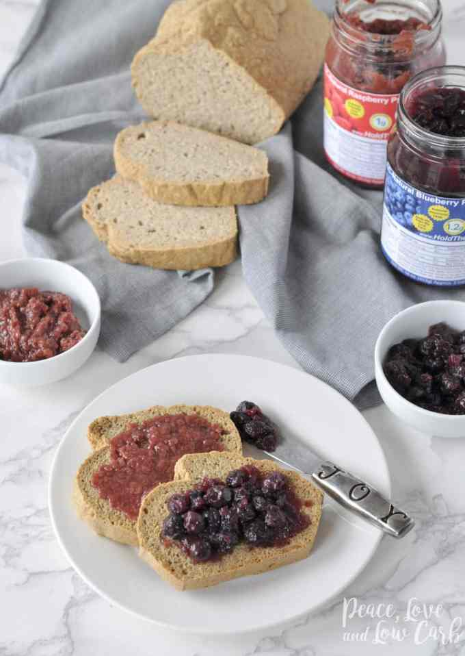 Low Carb Keto Preserves Jam | Peace Love and Low Carb