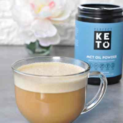 Perfect Keto Boosted Coffee with MCT Oil Powder