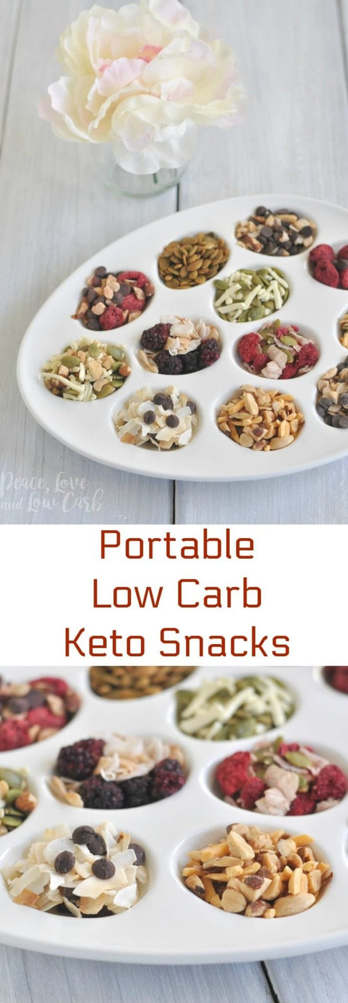 Portable Low Carb Keto Snacks | Peace Love and Low Carb