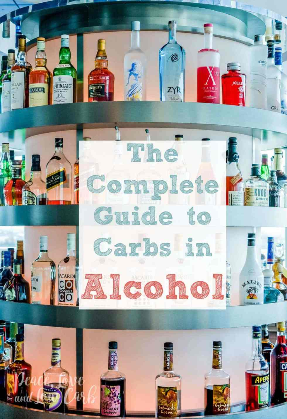 The Complete Guide to Carbs in Alcohol | Peace Love and Low Carb
