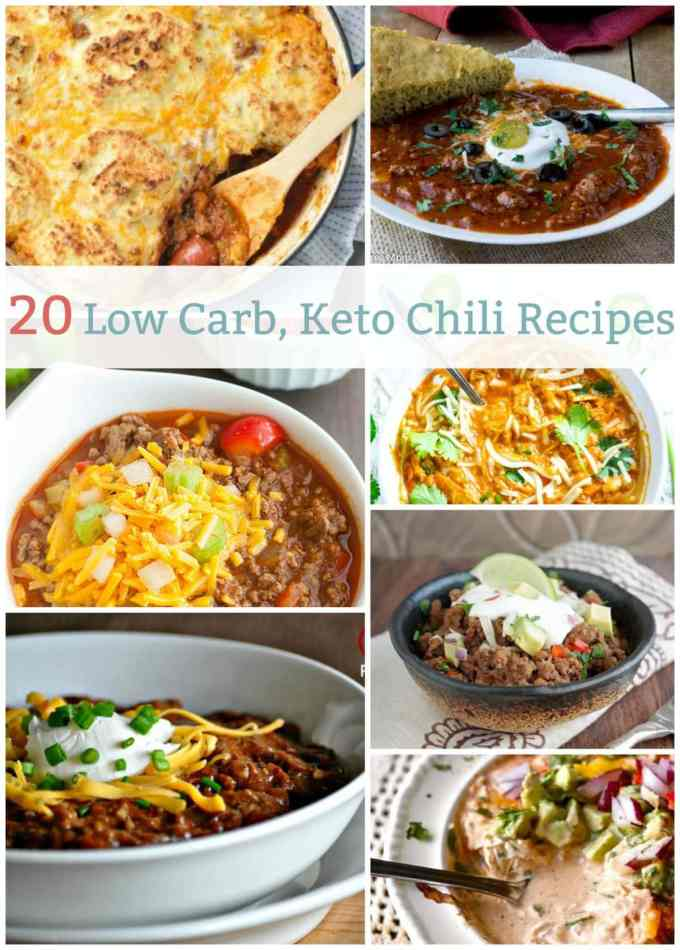 20 Low Carb, Keto Chili Recipes | Peace Love and Low Carb