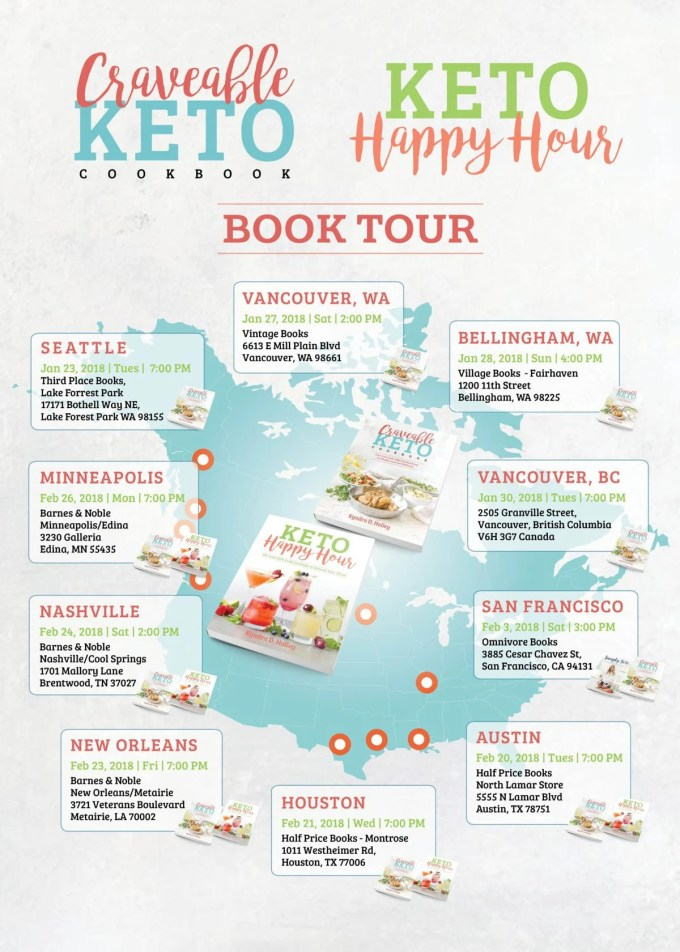 Craveable Keto Book Tour