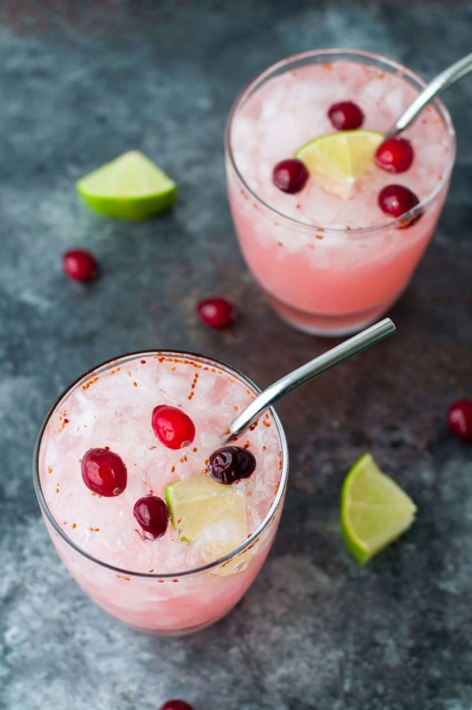 Low Carb Cocktail Tart Cranberry Cooler   Peace Love and Low Carb
