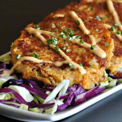 Keto Cajun Trinity Crab Cakes | Peace Love and Low Carb