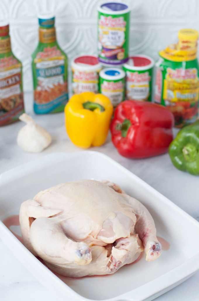 Keto Cajun Whole Roasted Chicken with Tony Chacheres